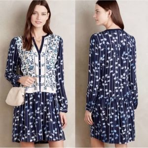 Anthropologie TINY Semele Embroidered Dress